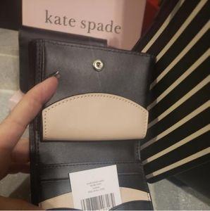 Kate Spade Nadine Black Bifold Leather Wallet